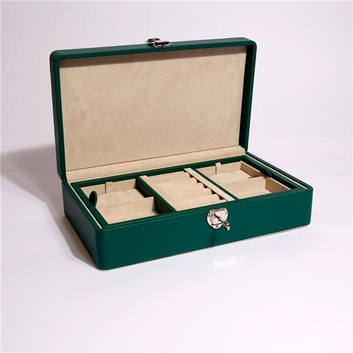 Pronta consegna - 2 caveau milano small woman dark green