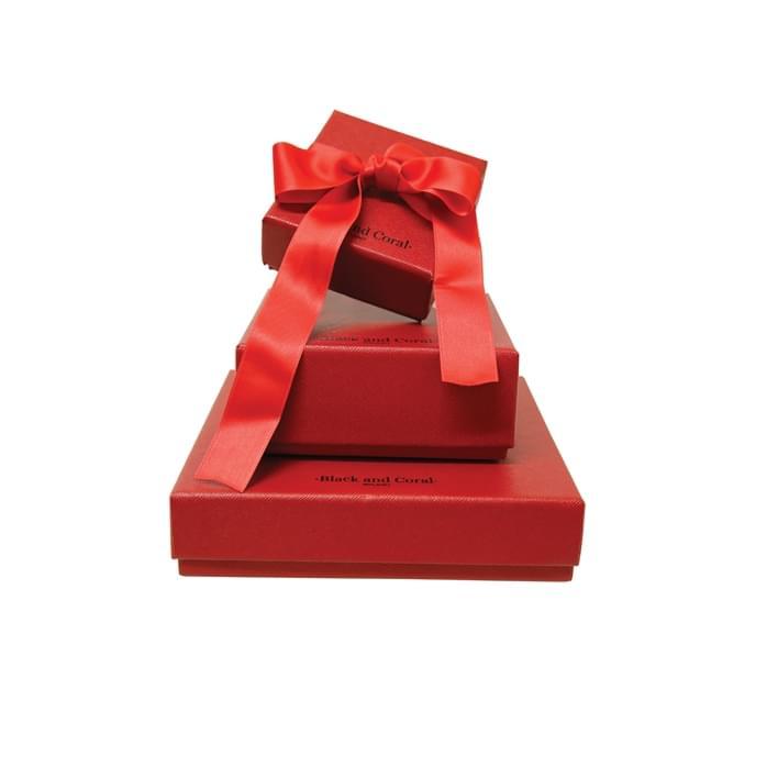 Astucci per gioielli - ASTUCCIO Black and Coral per sito