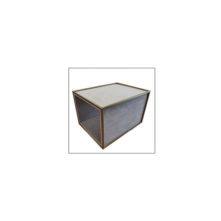 Vetrine per gioiellerie - base geneve rivestita 4 lati
