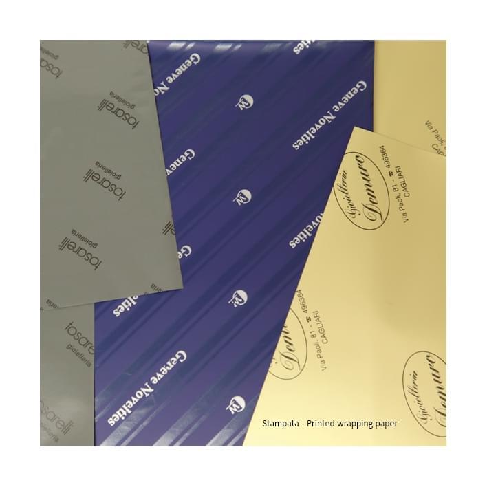 Carta personalizzata - carta stampata