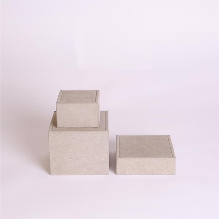 Espositori per gioielli - cubi piccoli set