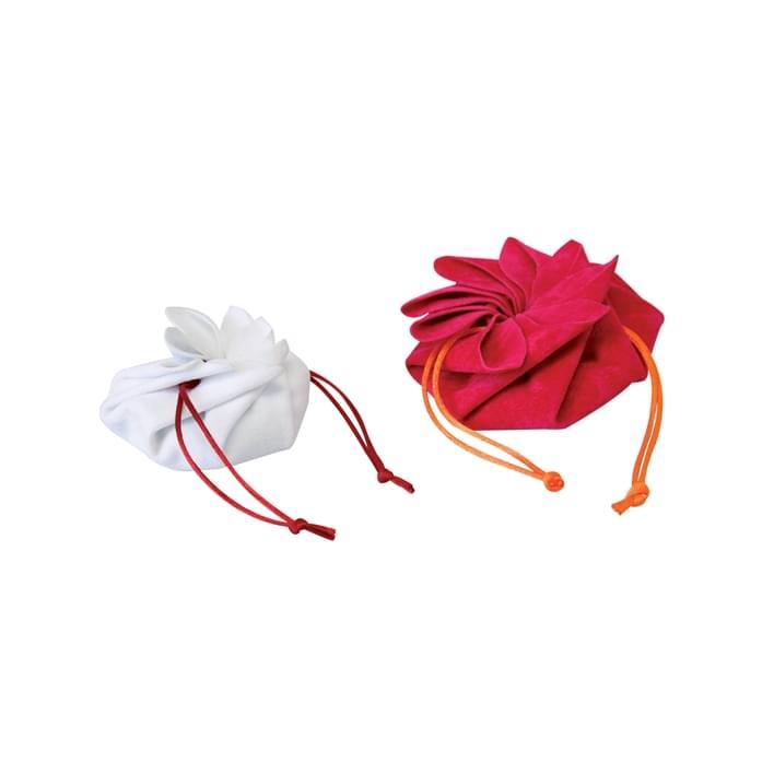Pochette portagioielli - flower pochette