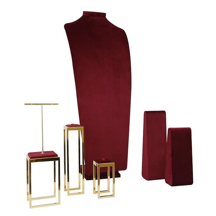 Espositori per gioielli - geneve-rosso