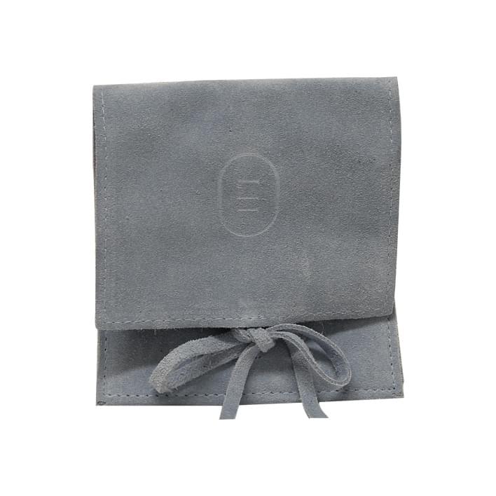 Pochette portagioielli - leather pelle