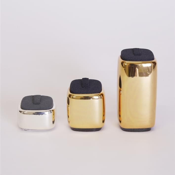 Espositori per gioielli - MOnaco cromati anello